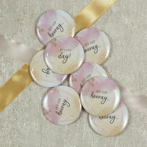 "Buttons JGA ""Hooray"""