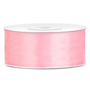 Satinband Rosa25mm · 25 Meter