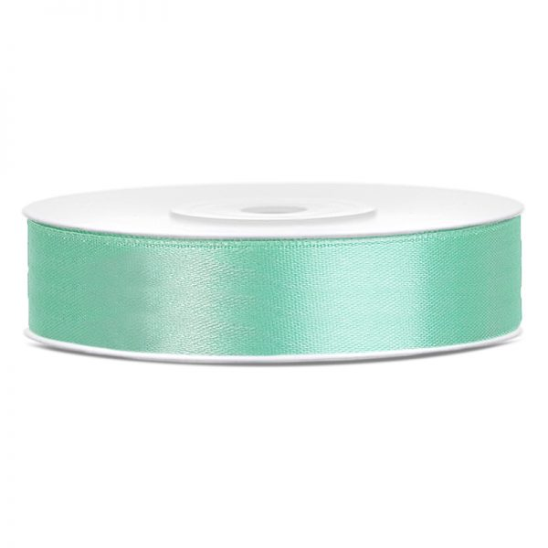 Satinband Mint 12mm · 25 Meter