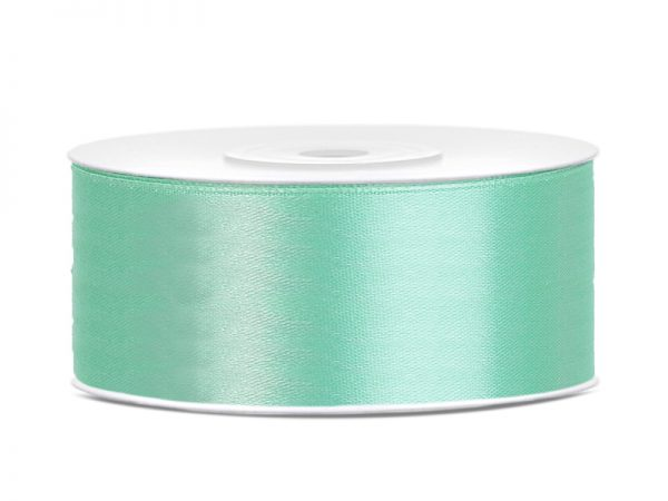 satinband mint 25mm