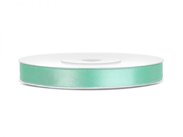 Satinband Mint 6mm